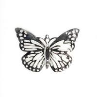 """60 St. Schmetterlinge filigran """"Pure"""" 2,7x3,8cm silber, Streuartikel, Metall !!"""