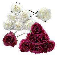 6 St. Rosen Pick Seide, D 7,5cm, L 19cm/ NICE PRICE***