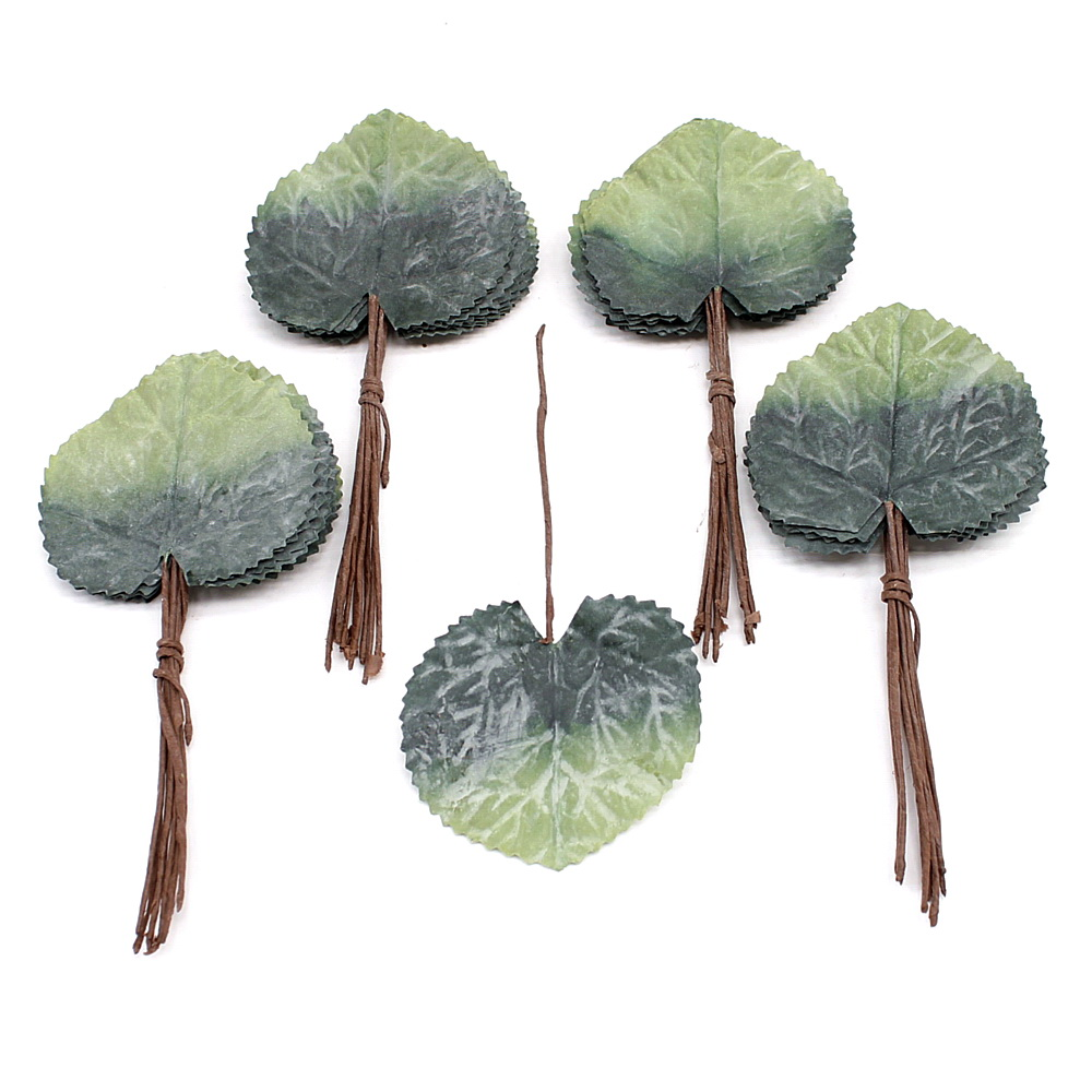 Latex-Geranienblätter klein 40 Blätter, 9cm x 8cm/ NICE PRICE !!!