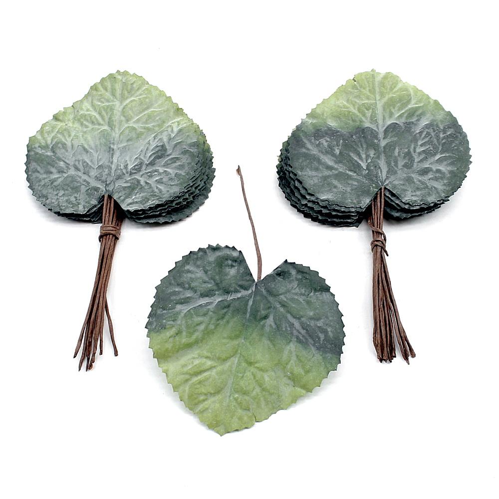 Latex-Geranienblätter groß 30 Blätter, 12cm x 10,5cm/ NICE PRICE !!!