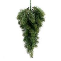 Tanne- Baum, Tropfen, grün L 62/41cm, mit 60 Spitzen, künstlich !!!