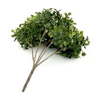Buchsbaum Busch x5 Triebe, etwas bunt, Kunststoff, Bux, L 25cm !!!