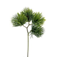 6x Kiefern Pick grün, kurze Nadeln L 10/20cm künstlich, outdoor !!!