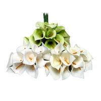 3 Bund/ mini Callas 12 Blüten/ 18cm, Foam- Schaum- Calla/ TOP PREIS !