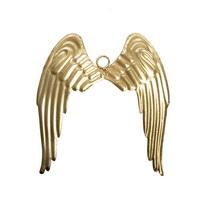 Antikmetall-Engelsflügel gold, 23,5x26,5cm groß, Metall Flügel !!!