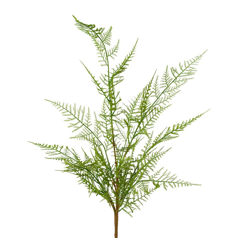 Athyrium Farn Zweig, mehrfache Triebe, Kunststoff Pflanze L 60cm !!!