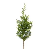 Wacholderpick mit Beeren kurz, L 30/20cm, Zweig, Kunststoff, outdoor !