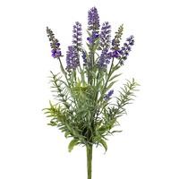 Lavendel im Bund 37cm, künstlich, Lavendelbusch Shabby Chic !!!