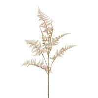 Asparaguszweig gold L 88/48cm, Kunststoff, künstlich, sehr lang !!!