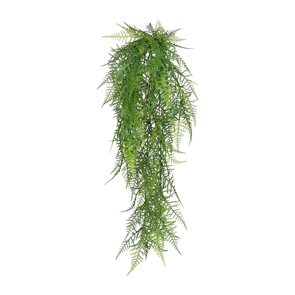 Asparagus Hänger grün, 80cm Länge/ 6 Triebe, Kunststoff Pflanze !!!