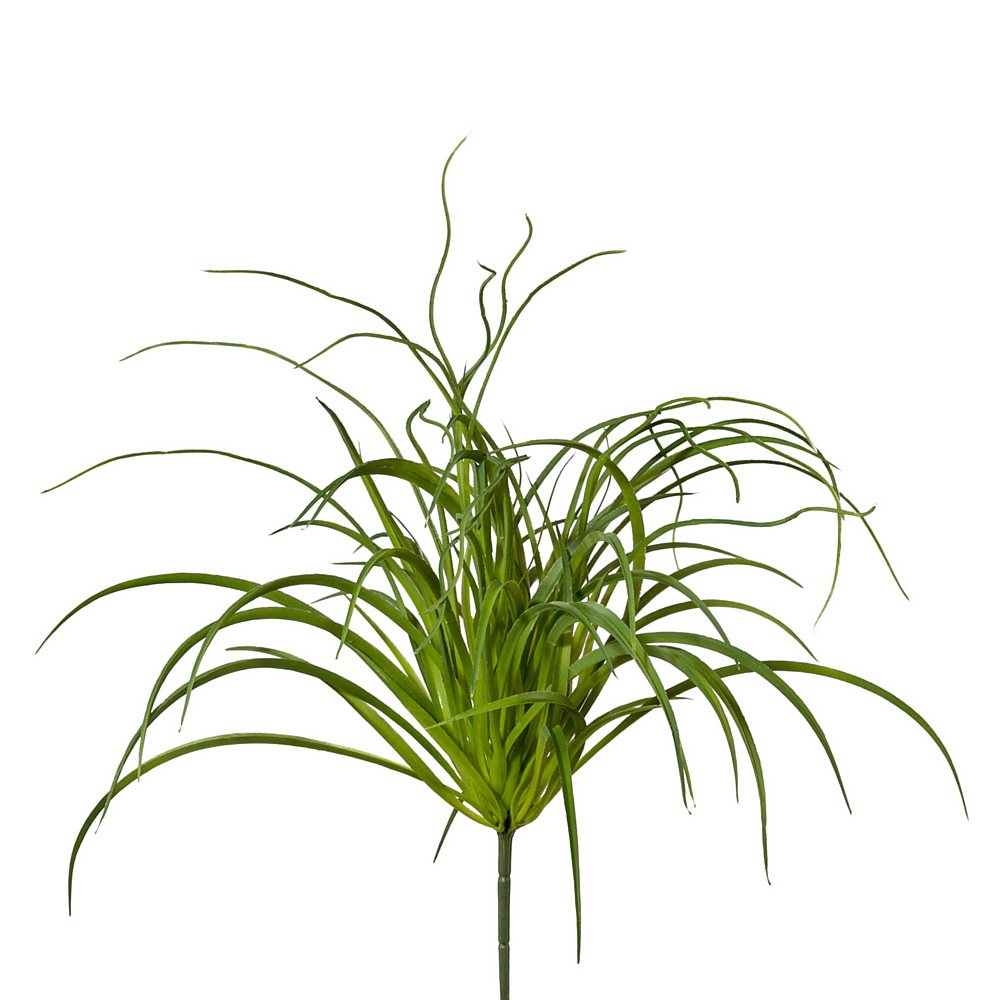 Seegras Busch grün, Kunststoff Pflanze outdoor L52/12cm !!!