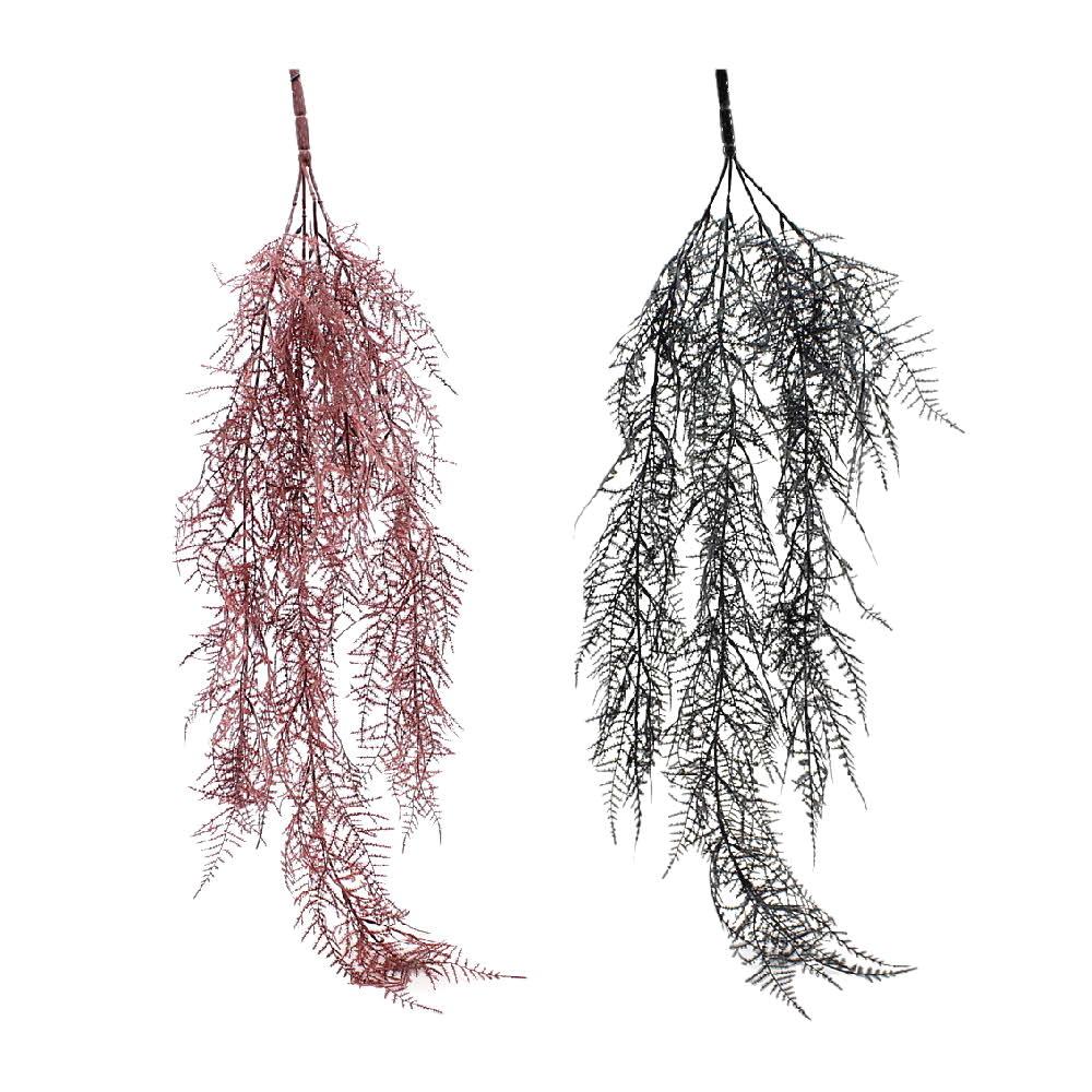 Asparagus Zweig hängend 80cm Länge/ 4 Triebe, Kunststoff/ Top Qualität