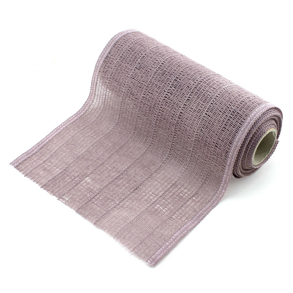 """Tischband, Tischläufer """"Madrid"""" 22cm 5 Met. 90%  Baumwolle/ 263 lavendel"""