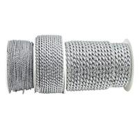 Kordel silber, 2mm/ 4mm/ 6mm, Lurexkordel ohne Draht !!!