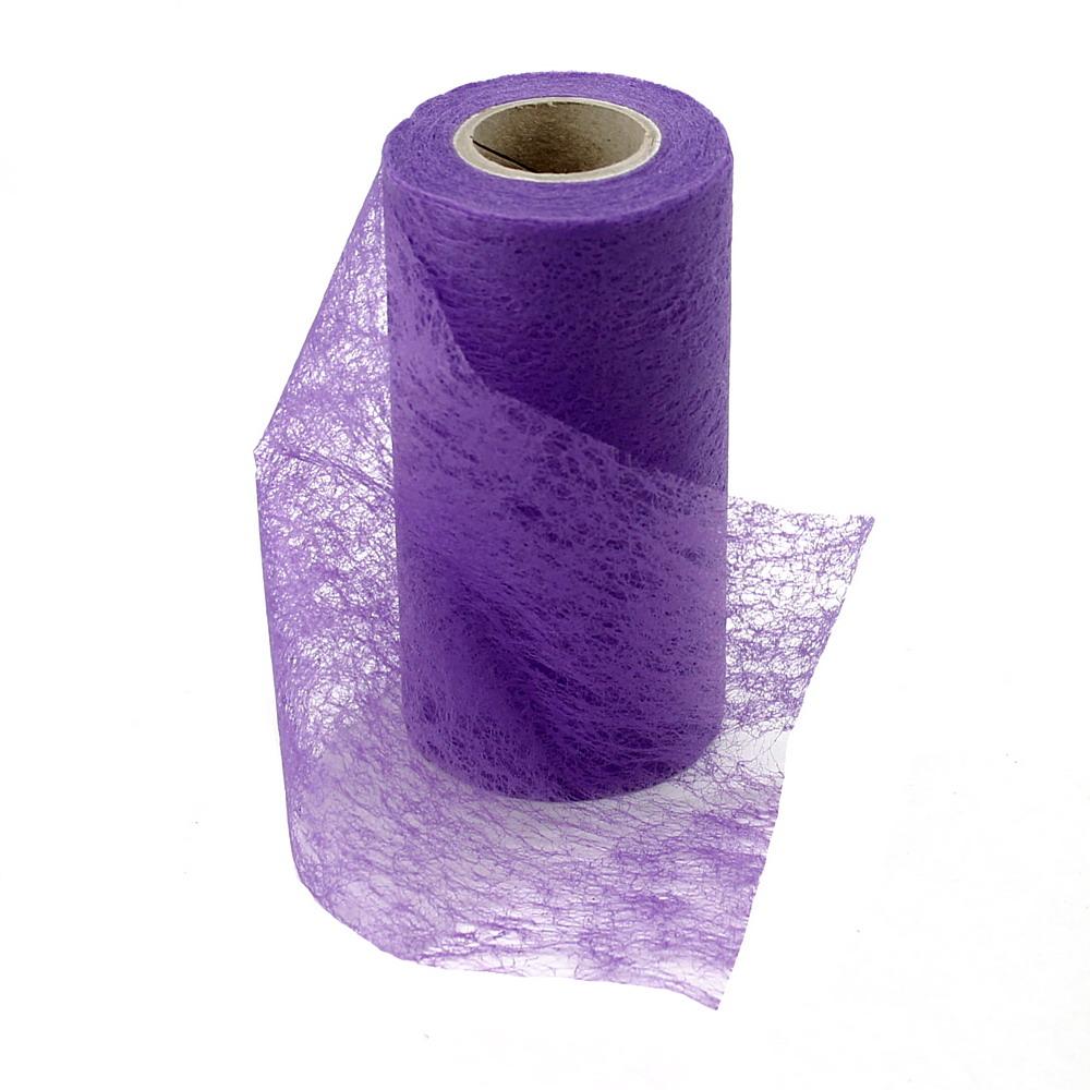 Vlies Band, Tischband 15cm-20 Meter, Tischläufer /// 133 violett