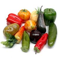 Gemüse Mix, 12 Stück Sortiment künstlich, deko vegetables/ NICE PRICE